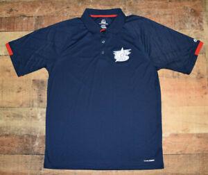 Majestic Cool Base Men's Navy Blue USA Baseball Polo Shirt Size XL Performance