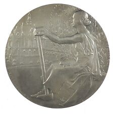 1933 France INTERNATIONAL MUSIC FESTIVAL LEVALLOIS-PERRET By Baudichon Silver