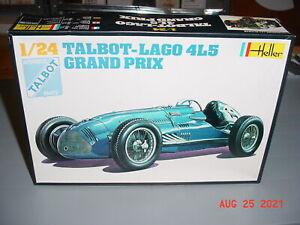 Heller Talbot-Lago 4L5 Grand Prix 1/24 Plastic Model Kit #721