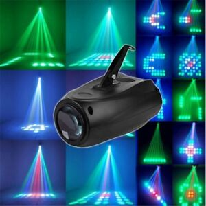 DJ Stage Laser Show Light Party Club Lamp Disco Sound Active Effect Show 10W