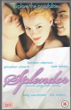 SPLENDOUR (SPLENDOR) VHS VIDEO PAL UK FORMAT MATT KEESLAR KATHLEEN ROBERTSON