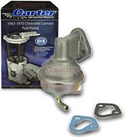 Carter Fuel Pump for 1967-1970 Chevrolet Camaro 5.0L 5.3L 5.7L V8 - er