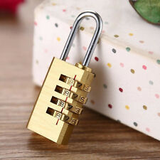 Mini Pure Cooper Password Code Brass Combination Lock Password Lock Padlock