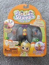 Squinkies Surprise Inside - 4 Squinkies Scary Fairy Bracelet & Ring Set ~ NIP