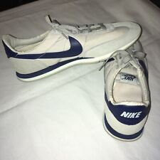 Vintage 80s NIKE Oceania Cortez Sneakers Running Shoes Gray+Blue US 11 851202 PV