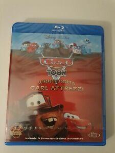 Cars Toon Le incredibili storie di Carl Attrezzi blu-ray sigillato) disney pixar