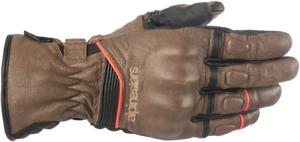 Alpinestars Cafe Divine Drystar Leather Gloves - Brown/Black - XXL 2XL