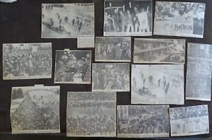 14 Newspaper Clippings PITTSBURGH STEELERS 1970's Super Bowl Celebrations, etc.