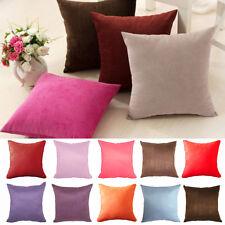 "Fashion linen Throw Pillow Cases Home Decorative Cushion Cover Square 16""x16"" JN"