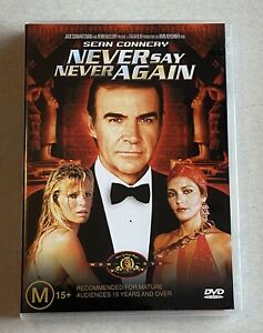 Never Say Never Again - DVD Pal Region 4 (Sean Connery) FREE POST - James Bond
