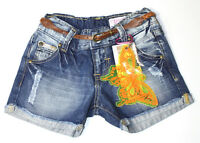 VINGINO Shorts Jeans + Gürtel  Größe 3/EU 98  Neu