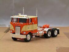 Dcp orange/cream Peterbilt 352 cabover tractor new no box