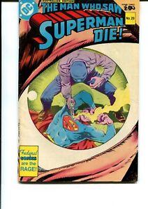 THE MAN WHO SAW SUPERMAN DIE #20, DC AUSTRALIAN PRINT (FEDERAL COMICS)