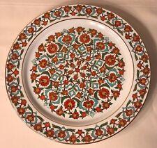 1996 MILLI SARAYLAR YILDIZ PORSELEN - HANDMADE PLATE MADE IN TURKEY - LARGE