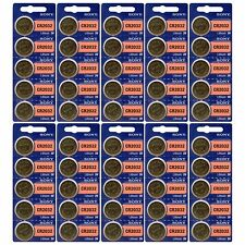 50 Pack Sony CR2032 3V Lithium Coin Batteries FRESHLY NEW USA Seller Expire 2027