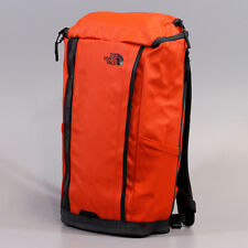 New The North Face Base Camp Kaban Charged Backpack TSA Laptop Approved Orange
