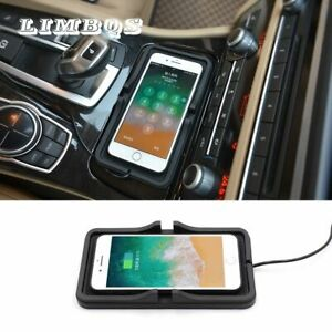 Car wireless fast charger for BMW f10 f11 f30 f32 universal for iphone 11 xr xs