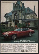 1979 JAGUAR XJ-S Luxury Car - Eloquent Redefinition of Motoring - VINTAGE AD