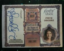 Firefly The Verse Jewel Staite Kaylee Autograph Trading Card Rare
