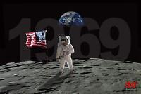 50th Anniversary of Moon Landing by Bob Downs 18x12 Graphic Art Print Poster