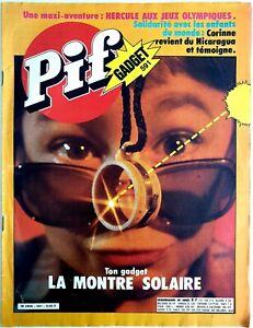 PIF GADGET N°591 (21/07/1980) : PIF & HERCULE, HÉROÏKO, LOUP NOIR, TARANIS [BE]