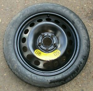 """VOLVO S60 S80 V70 XC60 XC70 17"""" SPACE SAVER SPARE WHEEL & T125/80 R17 TYRE. #5."""