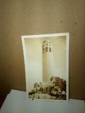 COIT TOWER Telegraph Hill San Francisco California 1-cent Washington 2-22-1939