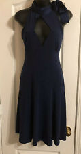 Moda International ~ Size XS ~ High Neck Low Cut Sleeveless Dress