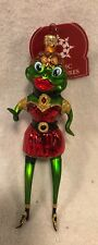 """99' Slavic Treasures """"Lady Frog� Pre-Owned Retired Box/Tag Poland 6.5�"""