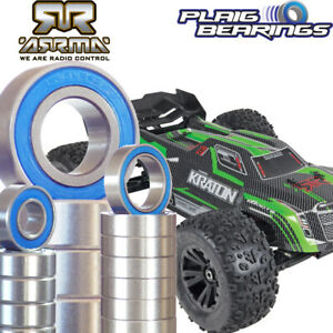 Arrma Kraton 6S Electric Truggy Bearing Kit 22 Pack PTFE Rubber Seals RC
