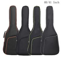 40/41Inch Oxford Fabric Guitar Case Gig Bag Double Straps Padded 10mm Waterproof
