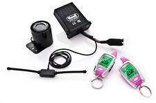 HAWK ROSA LCD 2 VIE pager Motocicletta Moto allarmi & Immobiliser Remote START