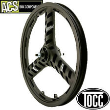 "BMX Wheel A.C.S. Stellar Mag Rear Wheel 3/8"" Axle (Black) Old School Mid School"