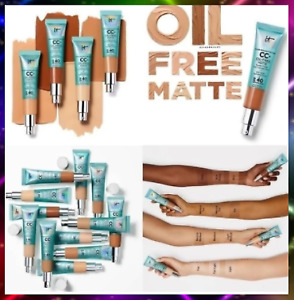 IT Cosmetics Concealer Cream Matter CC+ oil control Makeup Skin Base SPF 40 30ml