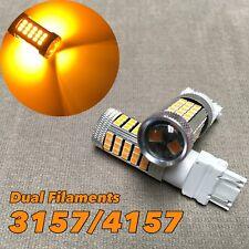 Tail Brake Stop Light AMBER 63 LED bulb T25 3157 3457 4157 FOR Chevrolet.2