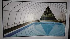 Schwimmbad Überdachung Poolüberdachung Swimmingpooldach Teichüberdachung