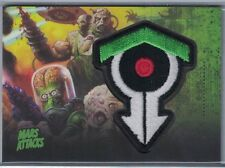 2013 MARS ATTACKS INVASION PATCHES #MP10 SCIENCE UNLEASHED