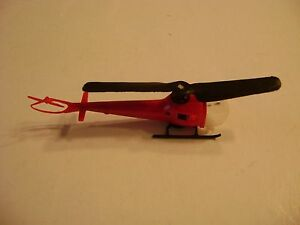 Lionel 3619 Red HO Helicopter
