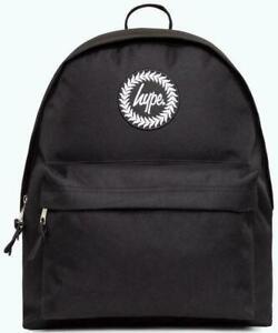 Hype Backpack Rucksack Bag Schultasche Schulranzen Schwarz NEU UND OVP