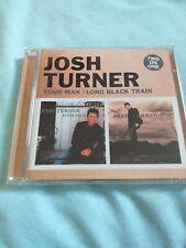 Josh Turner Your Man + Long Black Train rare two on one CD 2 x cd Album like new