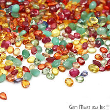 5 Carats Precious Mixed Gems Lot 5x4mm Stones Mix Faceted Natural Loose Gemstone