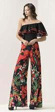 Abito Maestri stampa a fiori rosso taglia 42  Elegant dress Elegantes Kleid Robe