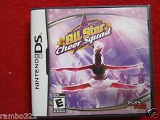 All Star Cheer Squad  (Nintendo DS, 2008) girl girls women ladies video game