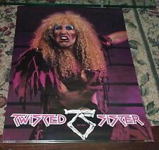 TWISTED SISTER Dee Snider 1984 Vintage Poster