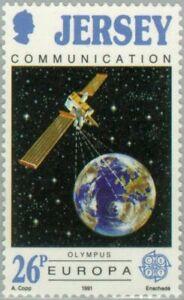 BAILIWICK of JERSEY - 1991 - Europa C.E.P.T.- European Aerospace - MNH - Sc.#548