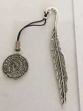 Aethelred II Coin WC3  Made From English Pewter On  FEATHER Bookmark