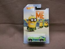 HOT WHEELS 2017 #2 GREEN DEORA II DESPICABLE ME MINNION BEACH DODGE A100 TRUCK