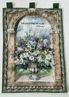 Vintage Flowers Vase Scene Wall Hanging Tapestry (91X66cm)