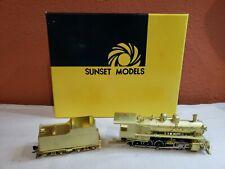 New ListingHo Scale Brass Sunset Models Prestige Series Frisco 2-10-0.