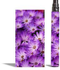 Battery Sticker Skins Fits  eGo/Vision/Itaste Clk/Other Vapor Wraps -FLORAL 4